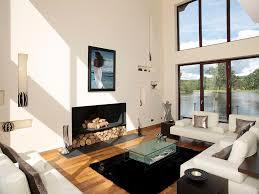 striped pillows tv shelf hearth wall to carpet leather sofa