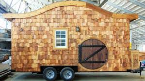 home house hobbit house on wheels incredible tiny homes