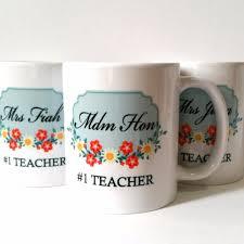 teacher u0027s day customized mug gifts design u0026 craft handmade goods