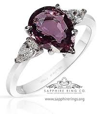rings pink stones images Best online store for buying 1 92 ct 3 stone pink jpg