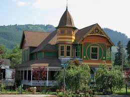 panoramio photo of victorian house in drain oregon