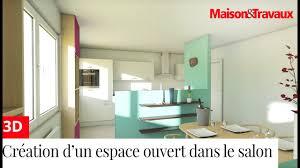 salon salle a manger cuisine créer un espace ouvert cuisine salon salle à manger dans un