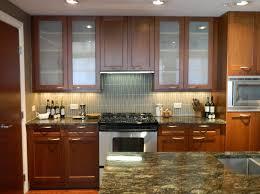 Sandblasting Kitchen Cabinet Doors Unique Frosted Glass Kitchen Cabinet Doors In Interior Home Ideas