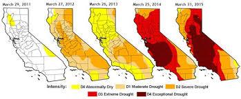 california map drought california national drought monitor
