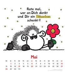 kalendersprüche monat sheepworld 2012 postkartenkalender de heye bücher