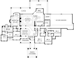 7 bedroom house plans mediterranean style house plan 7 beds 6 50 baths 7330 sq ft plan