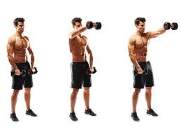 Bench Pressing With Dumbbells Dumbbell Training What Are The Benefits Of Training With