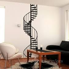 aliexpress com buy new 2016 vinyl spiral staircase wall sticker