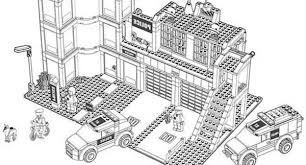 lego duplo police headquarters coloring pages batch coloring