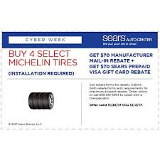 auto rebates and coupons sears