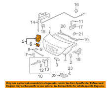 2006 honda accord trunk latch assembly honda civic trunk latch ebay