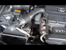 lexus is300 change lexus is300 changing spark plugs and intake valve gasket part1