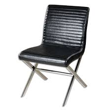 Black Leather Chairs Barry Wooley Designs Home Furnishings Chairs