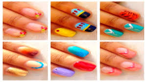 7 easy disney princess nail art for beginners youtube