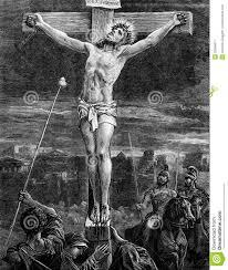 the crucifixion of jesus christ stock image image 32566671