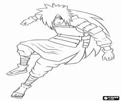 naruto coloring pages printable games