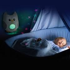 baby night light projector with music bubzi co baby sleep soothing owl with night stars projector and music
