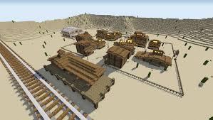 Minecraft House Map Wild West Map Desperado For Minecraft 1 7 2 1 6 4 1 6 2