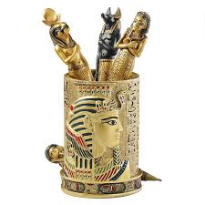 furniture egyptian superior selection and pricing for home decor 9 95 more details egyptian pharaoh pen vessel