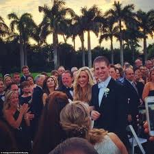 the trumps take over palm beach for eric u0027s wedding to girlfriend