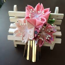 japanese hair accessories japanese style hairpin made kimono hair accessories cotton