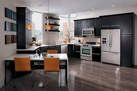 Masco Kitchen Cabinets Furniture Merillat Cabinets In White Kitchen And Kitchen Island