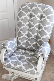 Rocking Chair Cushions For Nursery Lovable Cushions For Rocking Chair With Rocking Chair Cushions
