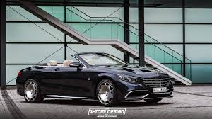 mercedes maybach new mercedes maybach s650 cabriolet should look something like this