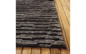 Grey Striped Rug Broken Stripe Rug Design Within Reach