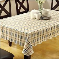 modern tablecloth linen fabric dining table cloth square cover
