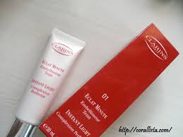 instant light complexion perfector clarins instant light complexion perfector 01 rose beige review