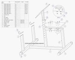 weight bench construction plans plans diy free download build a
