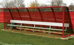 Athletic Benches Baseball Dugout