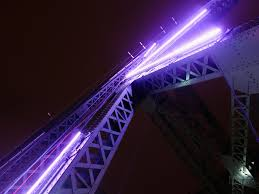 Precision Architectural Lighting Jacques Cartier Bridge Illumination Dazzles Montreal With Dynamic