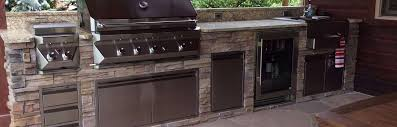 outdoor kitchens fireplaces u0026 appliances in louisville co