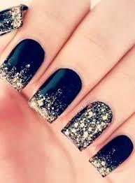 best 25 gold sparkle nails ideas on pinterest gold manicure