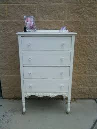 White Shabby Chic Furniture by 166 Best Vintage Painted Tall Dresser Chest Shabby Chic