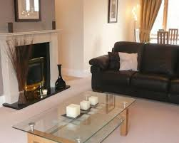Living Room Ideas With Black Sofa by Photo Of Beige Black Living Room Lounge Lounge Diner With Feature