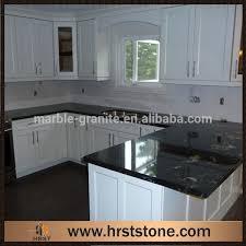 comptoir de cuisine noir noir granite comptoir de cuisine avec blanc armoires buy product