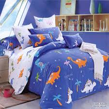 Dinosaur Comforter Full Queen Size Duvet Cover Shark Vivid Printing Bedding Sets Queen