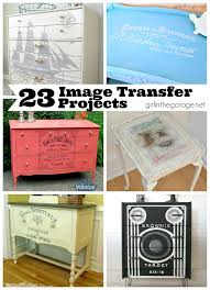 23 image transfer projects in the garage