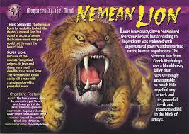 nemean lion wierd n u0027wild creatures wiki fandom powered by wikia