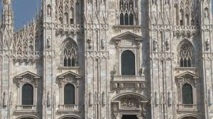 duomo milan tilt up close 2 stock video footage videoblocks