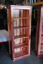 Amish Made Kitchen Cabinets by Custom Amish Made Red Cedar Book Shelf From Cabin Creations In