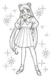sailor moon coloring pages print sailors coloring pages