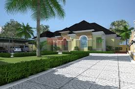 modern bungalow house contemporary nigerian residential architecture luxury 5 bedroom