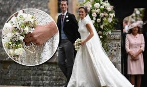Ivanka Trump Wedding Ring by Pippa Middleton Wedding Ring Is Nearly The Same As Sister Kate