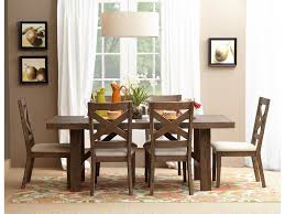 Orange Dining Room Sets Hampton Road Trestle Dining Table And Chair Set Belfort