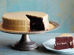 lizzie u0027s old fashioned cocoa cake with caramel icing recipe