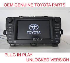 usa spec toyota bluetooth interface oem genuine 8612047390 toyota prius jbl navigation dvd changer